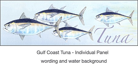 3_casart_Tuna_temporary wallpaper for Gulf Coast Recovery_casartblog, Slipcovers for your walls
