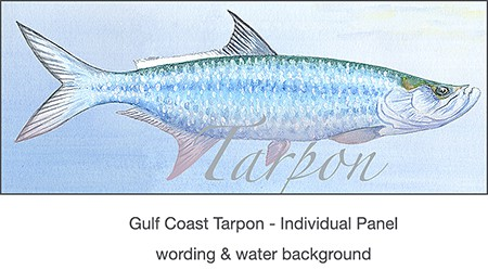 4_casart_Tarpon_wallcoverings for Gulf Coast Recovery_casartblog, Slipcovers for your walls