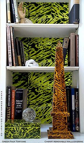 Casart coverings_Karen Robertson Collection_Tortoiseshell_green_casartblog
