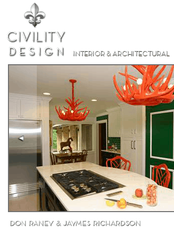 Civility Design, seen on Slipcovers or your walls, casartblog