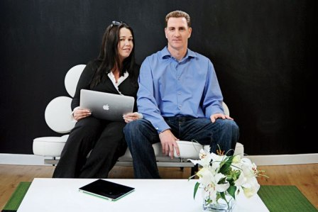 Houzz founders Adi Tatarko and Alon Cohen _casartblog