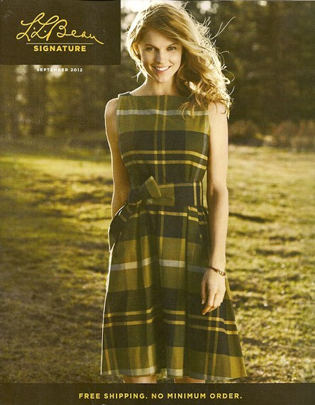 LL Bean Plaid Fashion cover, as seen on Slipcovers for your walls, casartblog
