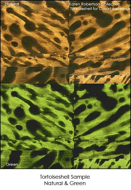 Casart Karen Robetson Collection Totoiseshell Sample, as seen on Slipcovers for your walls, casartblog