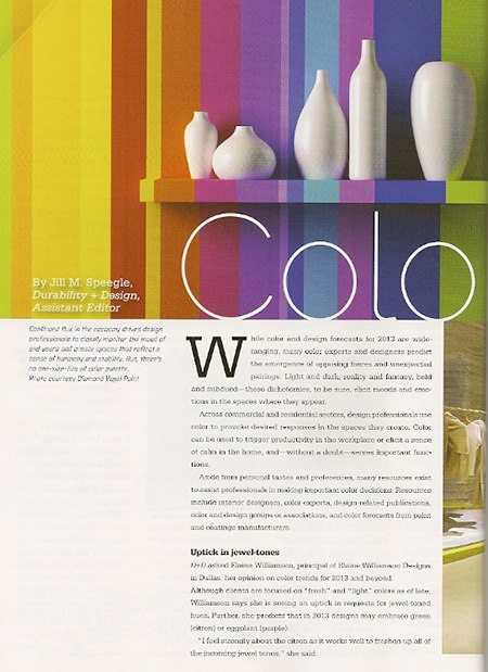 D&D-Color article_casartblog, as seen on Slipcovers for your walls