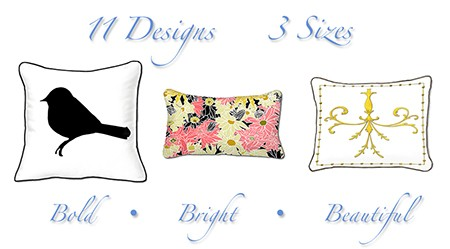 Casart Pillows_as seen on Slipcovers for your walls, casartblog