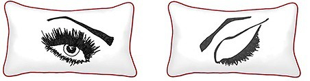 Casart decor blinking eye pillows_casartblog