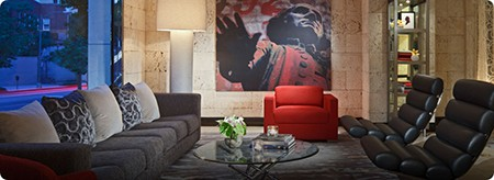Hotel George_DC, as seen on Slipcovers for your walls, casartblog
