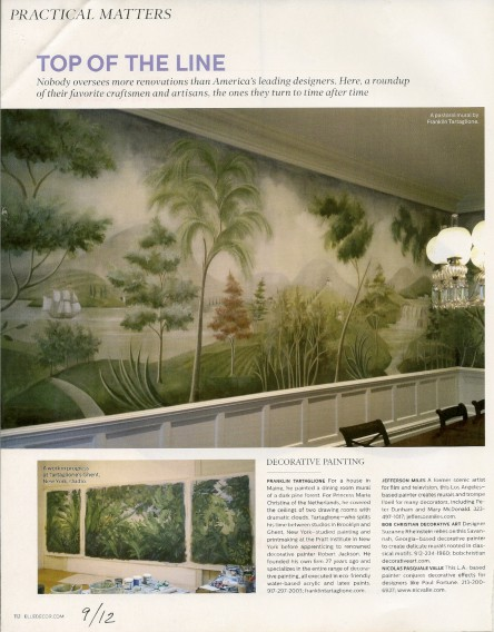 Casart coverings shows Elle Decor_9-12_casartblog