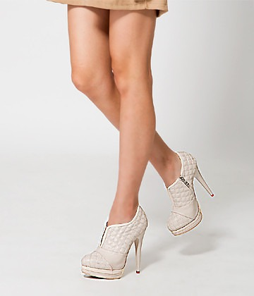 Quilted platform heels by Yeswalker_casartblog