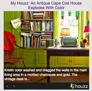 Casart coverings, Kristin-Houzz_post, slipcovers for your walls, casartblog