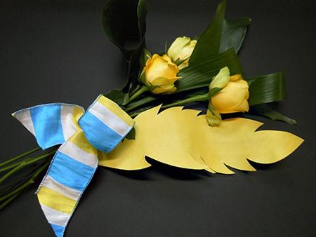 Casart wallcovering floral arrangement on Slipcovers for your walls, casartblog