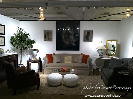 Stuart Nordin, Antiques in Alexandria, interior design as seen on slipcovers for your walls, casartblog