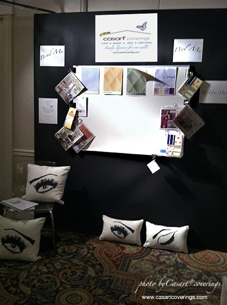 Casart AIA Demo Board, as seen on Slipcovers for your walls_casartblog