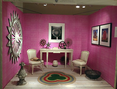 Mary Douglas Drysdale Lipstick Plus Pink for Casart at Antiques in Alexandria on casartblog