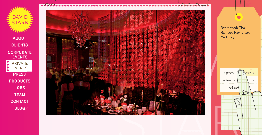 David Stark Bat Mitzvah at the Rainbow Room in NYC on Slipcovers for your walls, casartblog
