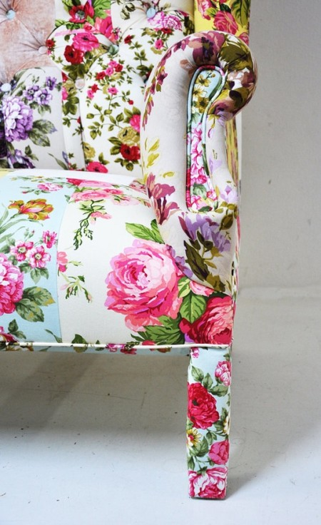 Floral Chair on Sipcovers for your walls, casartblo