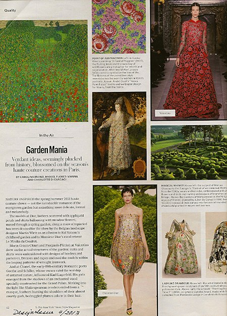NYtimesMag_DesignIssue_Garden Mania_Slipcovers for your walls, casartblog