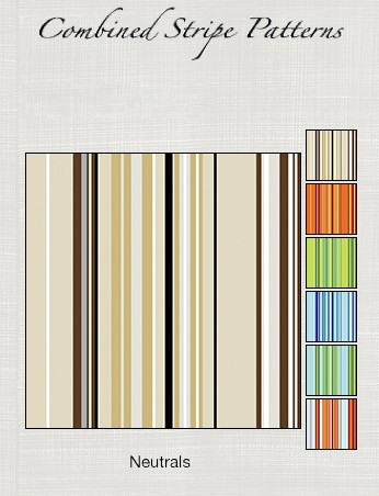 Casart coverings Stripe Patterned removable wallcovering as seen on Slipcovers for your walls, casartblog