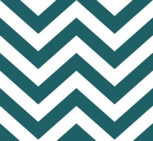 Libby Langdon Chic Chevron in Totally Teal, on Slipcovers for your walls, casartblog