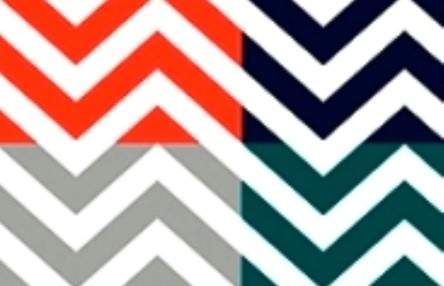 Chic Chevron-Libby Langdon Collection temporary wallpaper for Casart Coverings