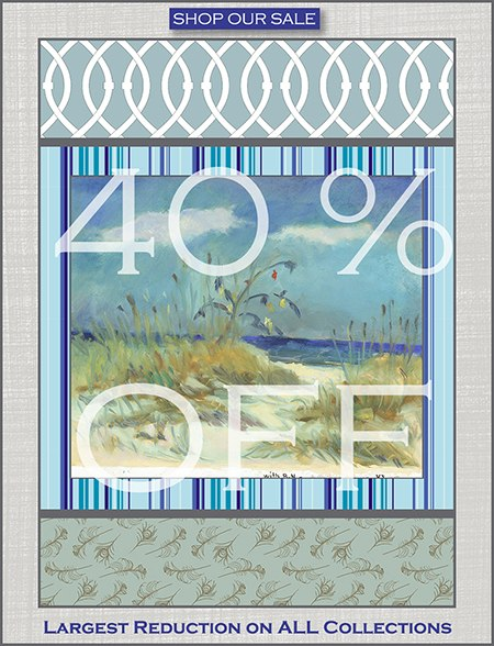 Casart coverings - summer sale on Slipcovers for your walls