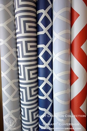 Casart multiple rolls temporary wallpaper_Libby Langdon Collection