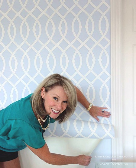 Libby installs Lively Lattice for Casart coverings
