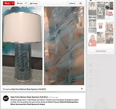 High Point Style spotters on Slipcovers for your walls, casartblog