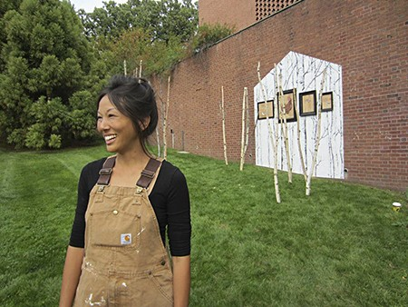 jane Kim of InkDwell_uses Casart on Slipcovers for your walls