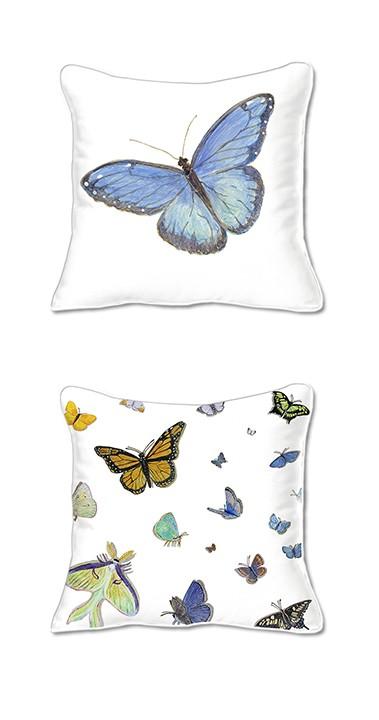 Casart Decor Butterfly Pillow slipcover