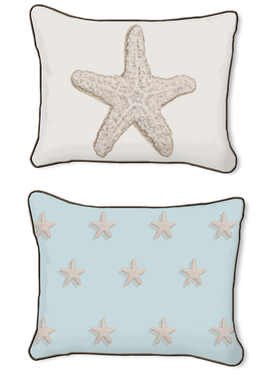 Casart Starfish-14x18-w on Slipcovers for your walls
