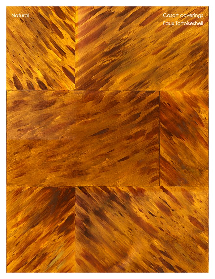Casart coverings natural Tortoiseshell temporary wallpaper