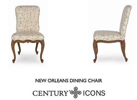 Charlotte Moss New Orleans Century Dining Chair_casartblog