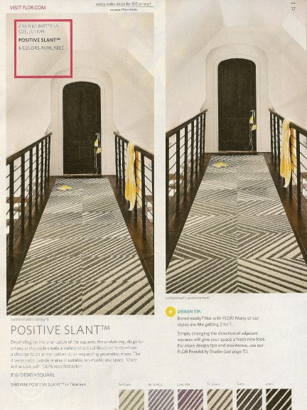 Casart coverings features Flor on Slipcovers for your walls, casartblog