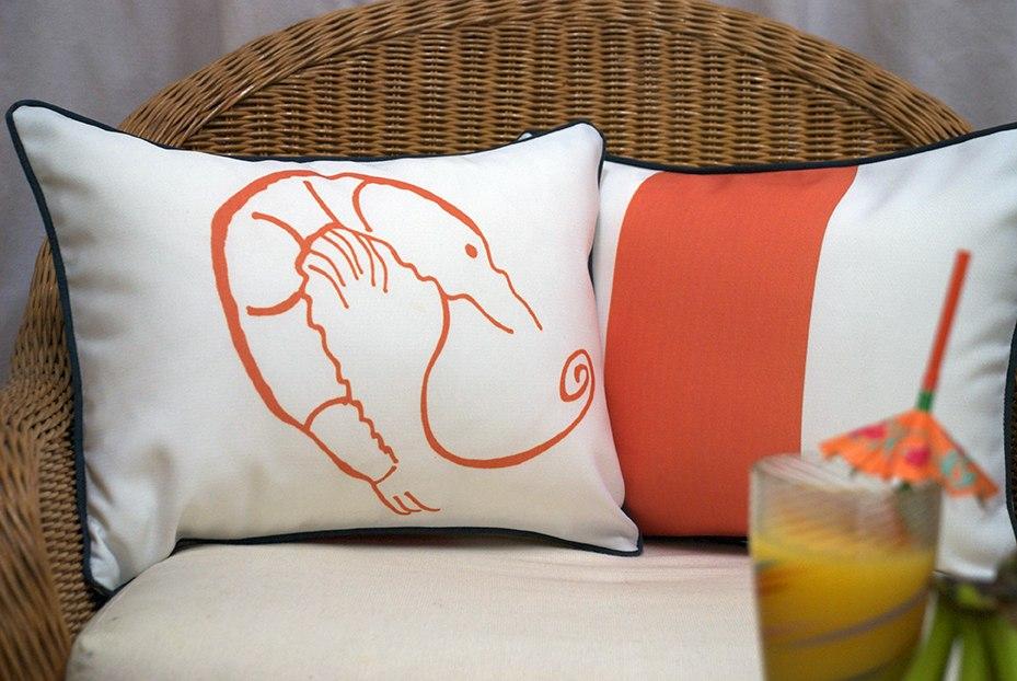Casart coverings_Shrimp Creole_Pillowcover_casartblog