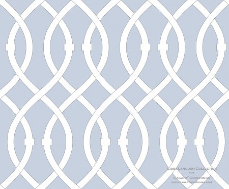 Libby Langdon Lively-lattice_icy blue for Casart coverings