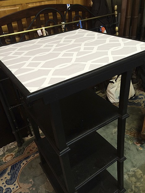 Casart coverings, Evolution Home, LEvolution Home Tabledop furniture transformation, Libby Langdon Collection, Groovy Gate