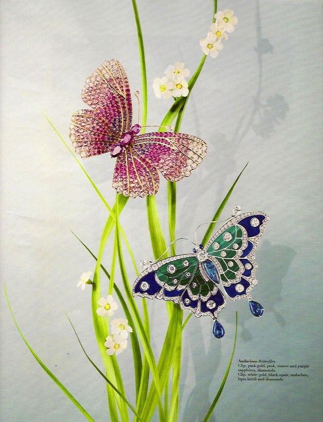 Van Clef Arpel Butterflies on casartblog