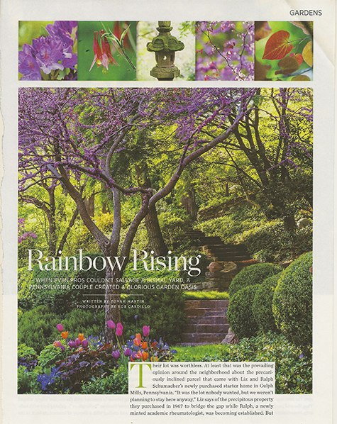 Traditional Home April 2015, garden on casartblog