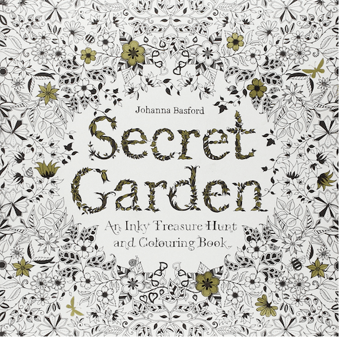 Secret Garden_Johanna Basford on Slipcovers for your walls, casartblog