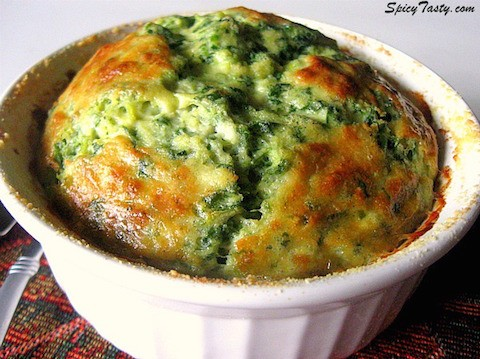 artichoke spinach-souffle on Slipcovers for Your Walls, casartblog