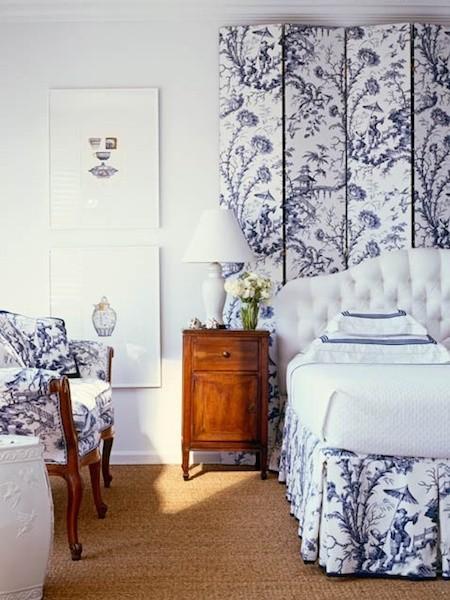 toile screen_via walkupblog on slipcovers for your walls, casartblog
