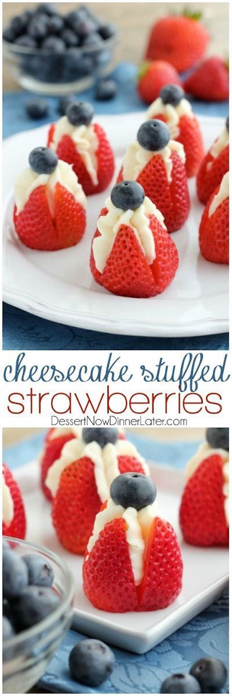 American cheescake filled strawberries_casartblog