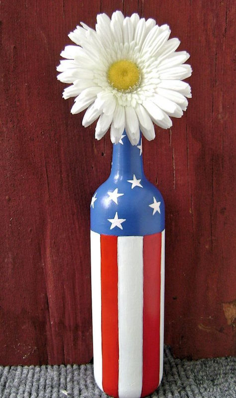 American daisy bottle_on Slipcovers for your walls casartblog