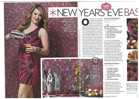 Casart coverings Faux Glass Mosaic Tile in People Magazine