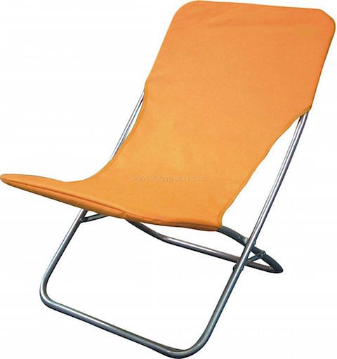 Tri-fold-beach-chair-orange on Slipcovers for your walls, casartblog
