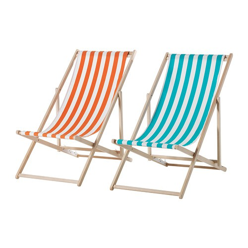 beach chairs from gardenista on slipcovers for your walls, casartblog