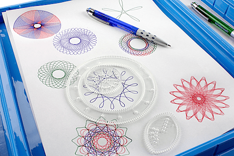 Actual Spirograph featured on casartblog
