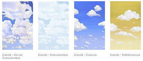 Casart coverings Cloud Collection on Slipcovers for your walls, casartblog