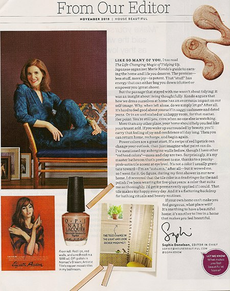 Casart coverings features Sophie Donelson HB editor on Slipcovers for your walls, casartblog